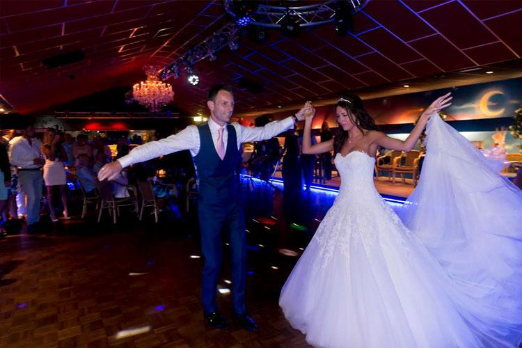 Stijldansen op bruiloft