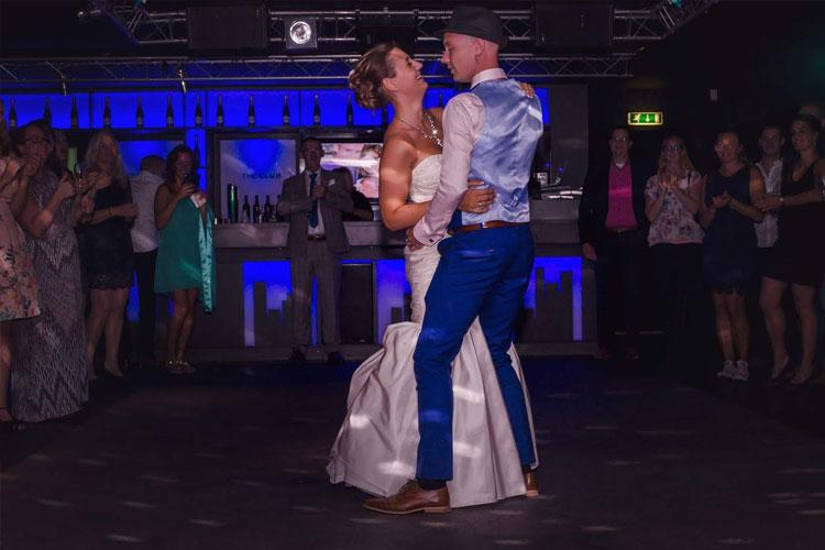 Dansles voor bruidsparen